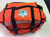 Dealmed First Responder Trauma Bag, Medium, Orange