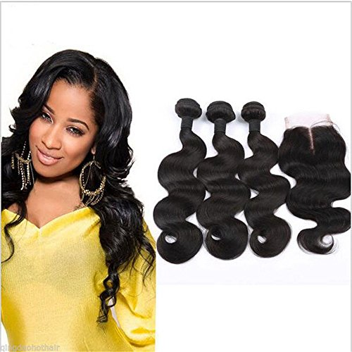 E-forest-hair-6A-Virgin-Brazilian-Remy-Human-Hair-Body-Wave-Natural-Color-3-Bundles-300g-Hair-weftWeave-Extension-1-Piece-Middle-Part-44-Top-Lace-Closures310-hair-weft10-closure