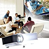 Xinda Multi-media Mini 800 Lumens Portable video Projector Video Home Thearter Outdoor Camping Projector