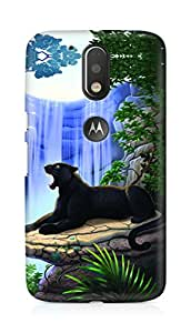 Amez designer printed 3d premium high quality back case cover for Motorola Moto G4 (Panther)