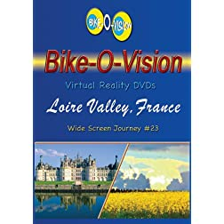Bike-O-Vision Cycling Journey- Loire Valley, France (Widescreen DVD #23)