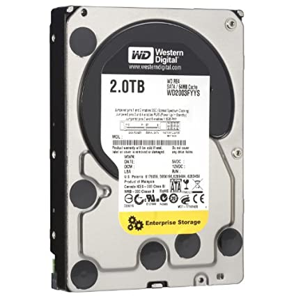 WD RE4 (WD2003FYYS) 2TB Desktop Internal Hard Disk