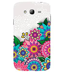 printtech Ethnic Rangoli Floral Pattern Back Case Cover for Samsung Galaxy Grand Neo / Samsung Galaxy Grand Neo i9060