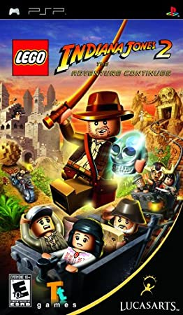 LEGO Indiana Jones 2: The Adventure Continues - Sony PSP