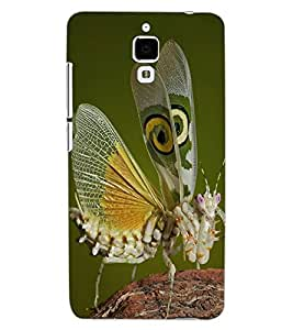 ColourCraft Beautiful Butterfly Design Back Case Cover for XIAOMI MI 4