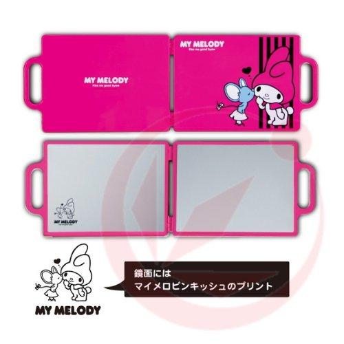My Melody バックミラー マイメロピンキッシュ YMー102