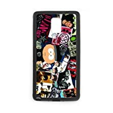 buy Personalized Note 4 Hard Tpu Rubber Phone Case Compatible For Samsung Galaxy Note 4 Iv - Blink 182 Band (Design A671)