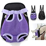 Multi-Color Choice Travel Cat Pet Puppy Dog Nylon Net Front Carrier Backpack Bag Case Small Size