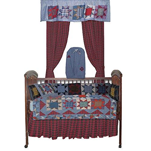Denim Crib Bedding