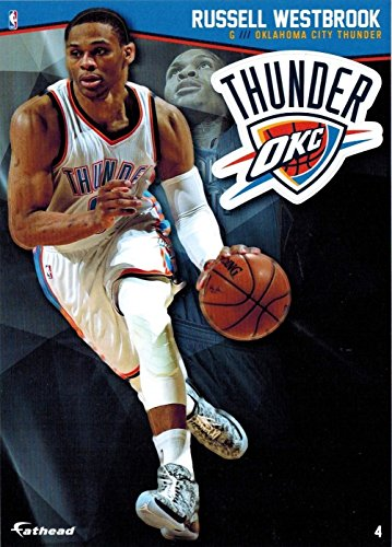 bc899a2bb725 2015-16 Oklahoma City Thunder Russell Westbrook Mini Fathead 5