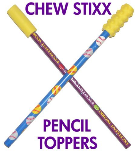 THE SENSORY UNIVERSITY The Sensory University Chew Stixx Pencil Toppers