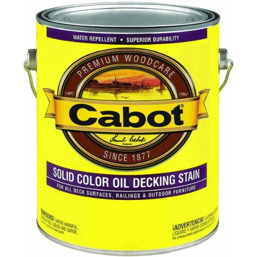 Cabot Solid Oil Decking Stain Voc