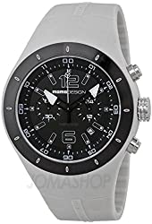 Momo Design Mirage Chronograph Black Dial Silicone Mens Watch MD5006GL-21