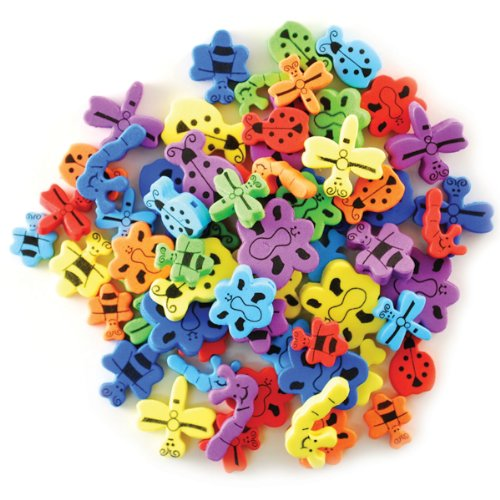 Krafty Kids: Fun Foam Assorted Animal Beads 6mm -Bead Bugs