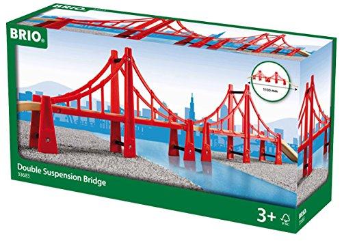 BRIO Double Suspension Bridge (Golden Gate Bridge Model compare prices)