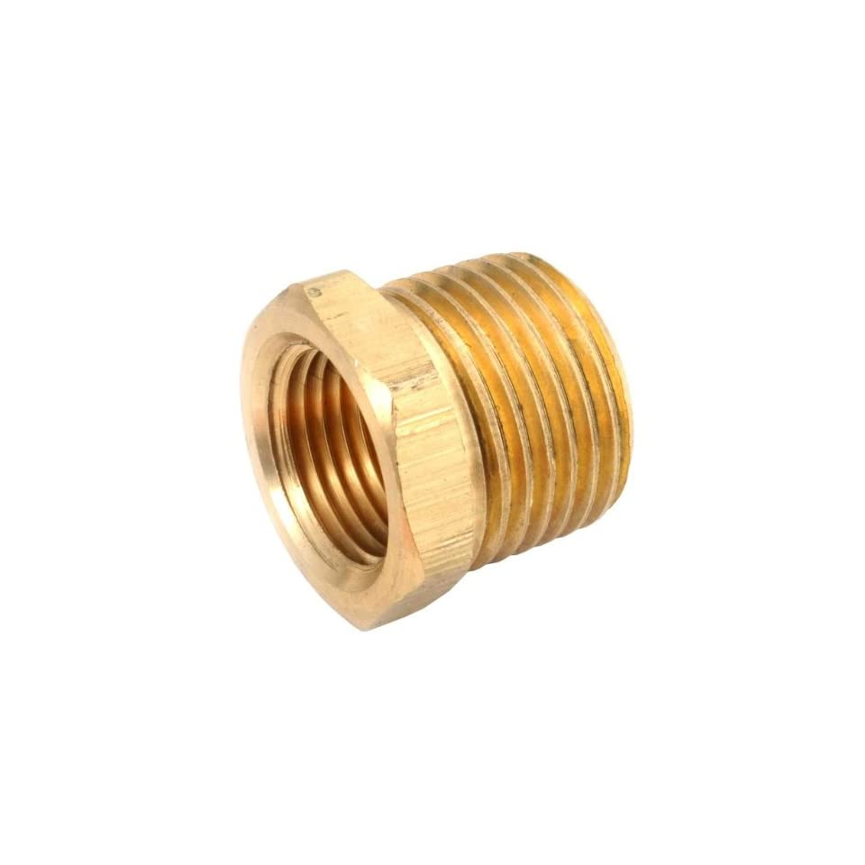 ANDERSON METALS 1/2 x 1/4 Brass Hex Pipe Bushings Sold
