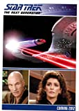 STAR TREK THE NEXT GENERATION THE COMPLETE SERIES TWO 2 2012 NSU PROMO CARD P2