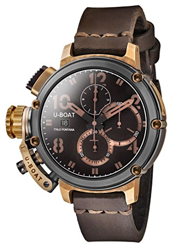 U Boat Chimera Chrono Black and Bronze Limited Edition