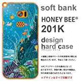 201Kハードケース HONEY BEE 201K sdoft bank 水槽・海 capc-201k-4342 の中古画像