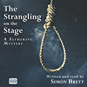 The Strangling on the Stage | [Simon Brett]