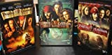 Pirates of the Caribbean Trilogy (Curse of the Black Pearl / Dead Mans Chest / At Worlds End)
