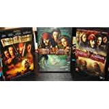 Pirates of the Caribbean Trilogy (Curse of the Black Pearl / Dead Man's Chest / At World's End) ~ Johnny Depp