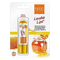 VLCC Lovable lips Lip Balm, Honey, 4.5g
