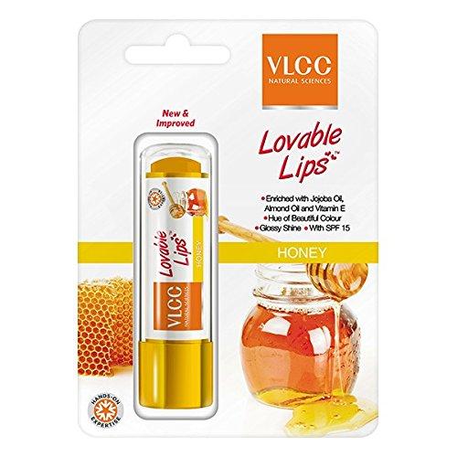 VLCC Lovable lips Lip Balm, Honey, 4.5g