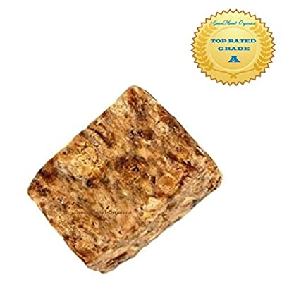 20 LBS Bulk Wholesale Premium Raw African Black Soap From Ghana. Buy in Bulk & Save! (Genuine batch ships & sells from GreenPlanet-Organics only)