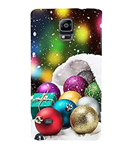Vizagbeats Festival Decorative Balls Back Case Cover for Samsung Galaxy Note 4