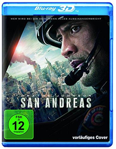 San Andreas [3D Blu-ray]