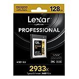 Lexar Professional 2933x XQD 2.0カード 128GB (最大読込 440MB/s、最大書込 400MB/s)[国内正規品] 無期限保証 LXQD128CRBJP2933