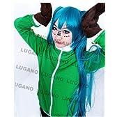 コスプレ衣装  VOCALOID ボーカロイド マトリョシカ 初音ミク風 衣装+手袋セット  Mサイズ