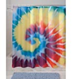 InterDesign Tie Dye Shower Curtain