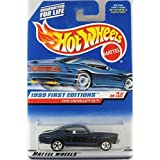 Hot Wheels 1999 First Editions 1970 '70 Chevy Chevelle SS Dark Blue #4 (Color: Metalflake Dark Blue, Tamaño: 1:64 Scale)
