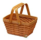 Quickway Imports QI003056 Rectangular Chip Picnic Basket
