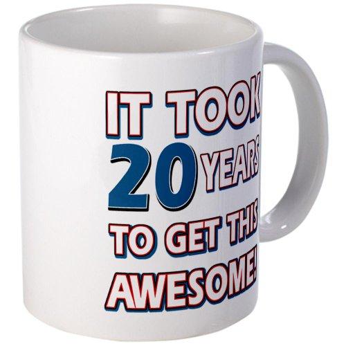 CafePress - 20 Year Old birthday gift ideas Mug - Unique Coffee Mug, 11oz Coffee Cup