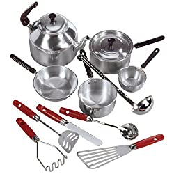 Aluminum Cooking Set And Utensils