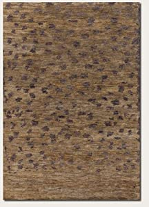2' x 3' Area Rug Eco-Friendly Hand Knotted Leopard Print