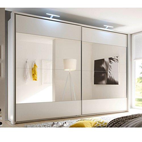 Design-Schwebetrenschrank-BRONX-315cm-wei-mit-Spiegel-Kleiderschrank