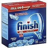 Finish Dishwashing Gelpacs - 32 ct