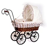Small Foot Company 8755 Basket Doll's Pram Antiqueby small foot company