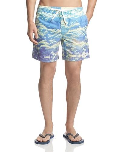 Rhythm Men's Visuals Jam Swim Trunk Shorts