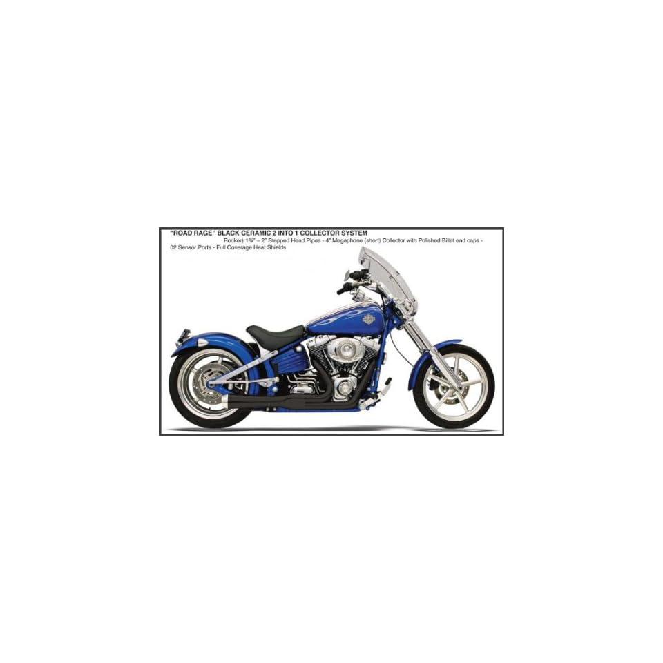 Bassani Road Rage Exaust For Harley Davidson