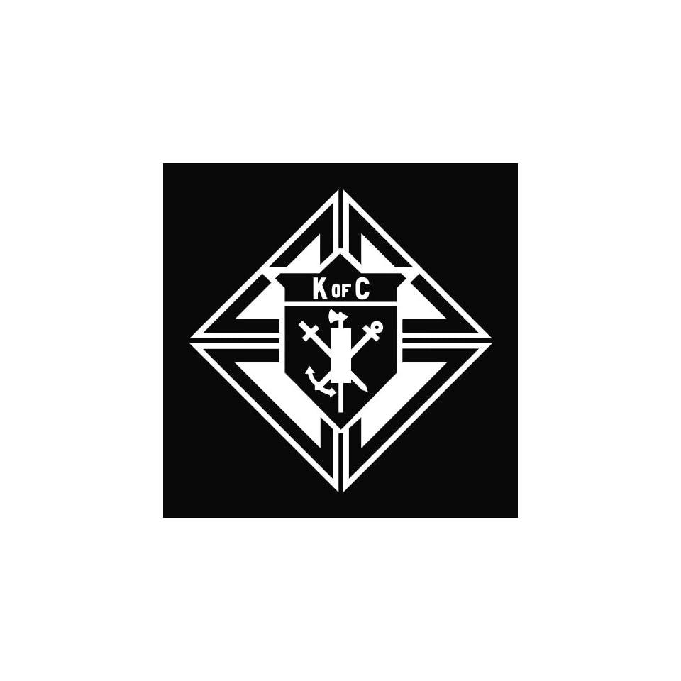 Knights of Columbus Die Cut Vinyl Decal Sticker   5.50