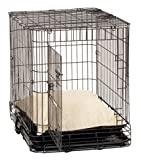 Coolaroo Dog Crate Shade with Pillow, Medium, Desert Sand