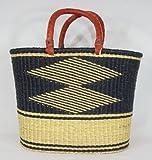 TKUGA Nungua African Basket Shopper-Tote -FREE SHIPPING
