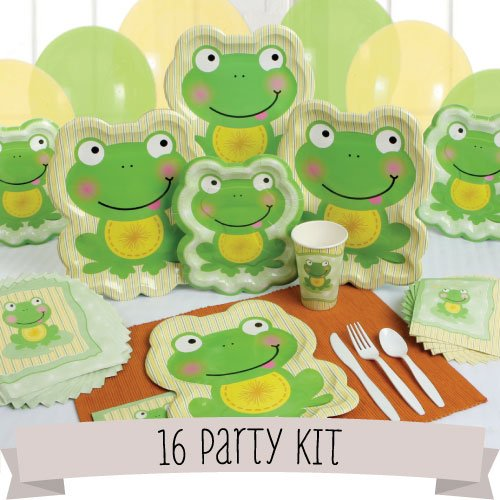 Froggy Frog - 16 Person Party Kit front-20592