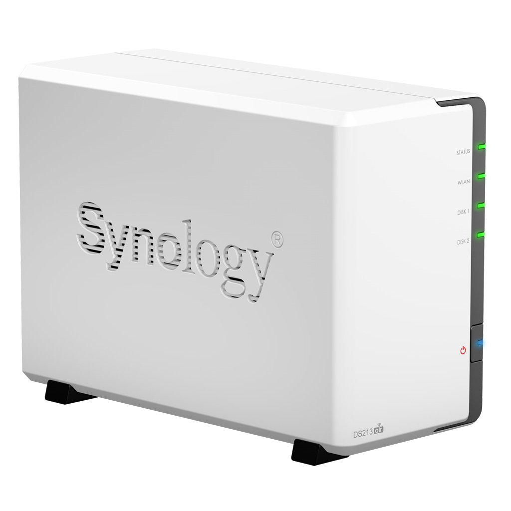 Comparer SYNOLOGY DISKSTATION DS213AIR BLANC 8TO