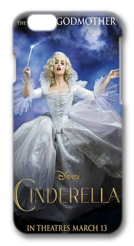 iPhone 6 Plus Case, iPhone 6 Plus Cases -Fairy Godmother Cinderella 2015 Polycarbonate Hard Case Back Cover for iPhone 6 Plus 5.5 inch 3D